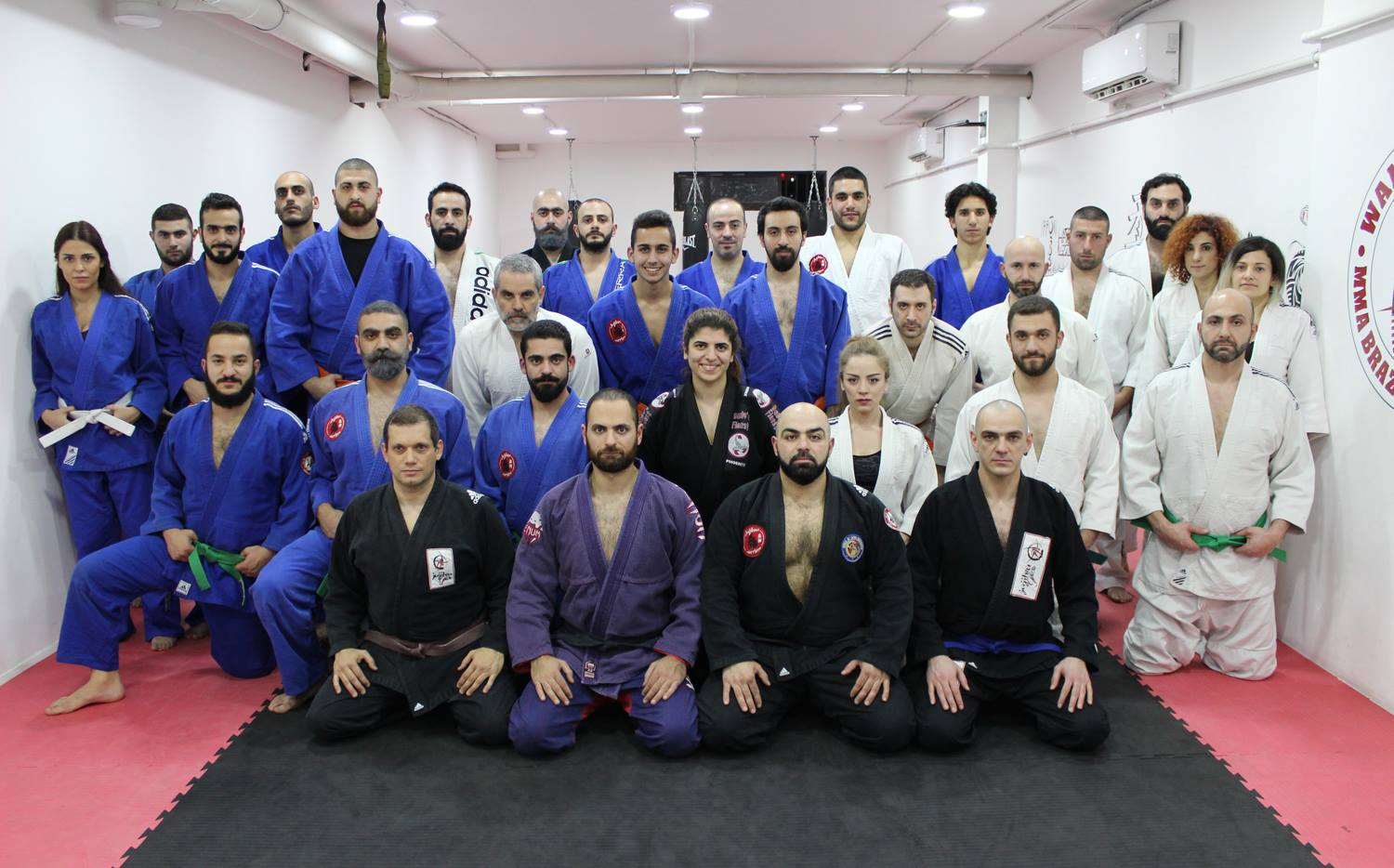 the-guru-academy-lebanon-japanese jujitsu team 2017